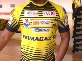 AS Carcassonne Rugby les nouveaux maillots de l39AS Carcassonne XIII sur Orange Vidos