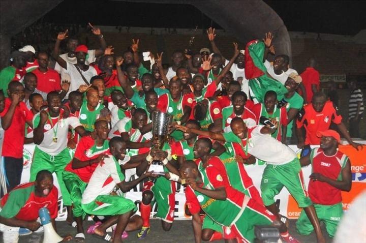 AS Pikine LAs Pikine vainqueur de la Coupe du Sngal aDakar Photos