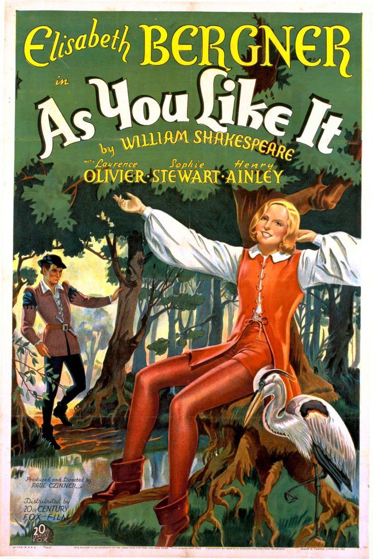 As You Like It (1936 film) wwwgstaticcomtvthumbmovieposters3953p3953p