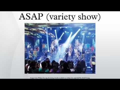 ASAP (variety show) ASAP variety show YouTube
