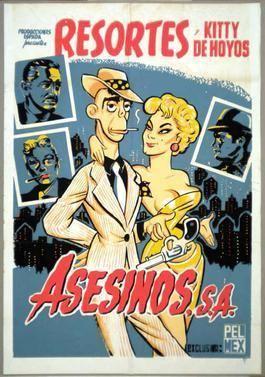 Asesinos, SA movie poster