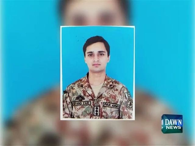 Asfandyar Bukhari Capt Asfandyar Bukhari martyred in base camp attack Video Dailymotion