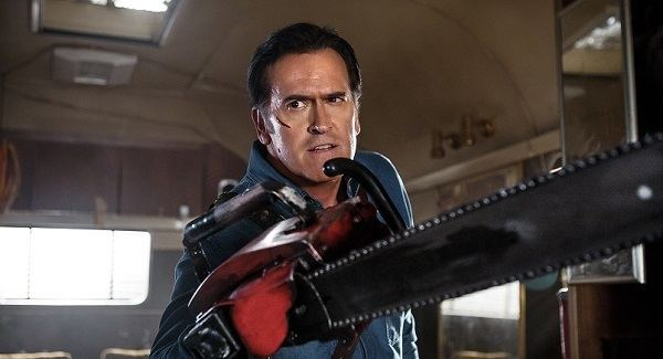 Ash Williams Ash Vs Evil Dead Review Starz39s New HorrorComedy Is A Hilarious