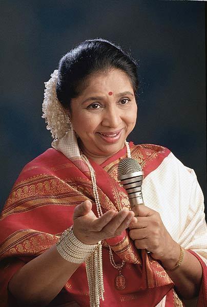 Asha Bhosle Asha Bhosle enters Guinness World Records Photo7