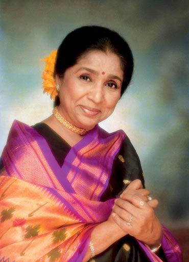 Asha Bhosle My mother Asha Bhosle Rediffcom Movies