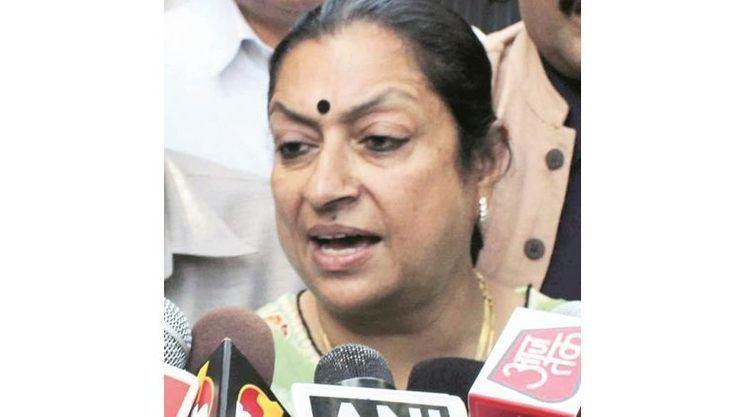 Asha Kumari (politician) Himachal MLA Asha Kumari gets 1year jail term The Indian Express