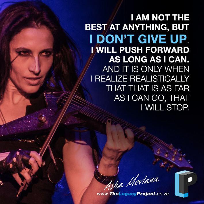 Asha Mevlana Asha Mevlana Electric Violinist The Legacy Project