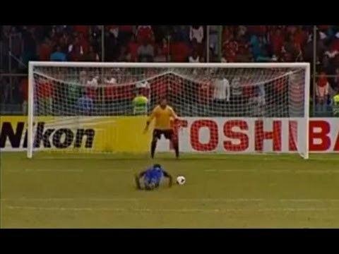 Ashad Ali Ashad Ali Adubarey fake fall Epic Penalty Afghanistan vs Maldives