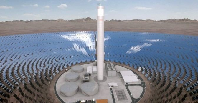 Ashalim Power Station Israel to build Concentrated Solar Power plant in Negev desert REVE