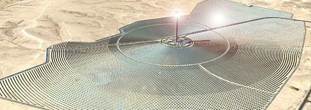 Ashalim Power Station Solar Thermal Power Station Tower in Negev Desert to Provide