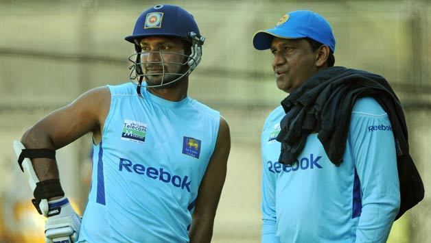 Ashantha de Mel A fast bowler who also represented his country in