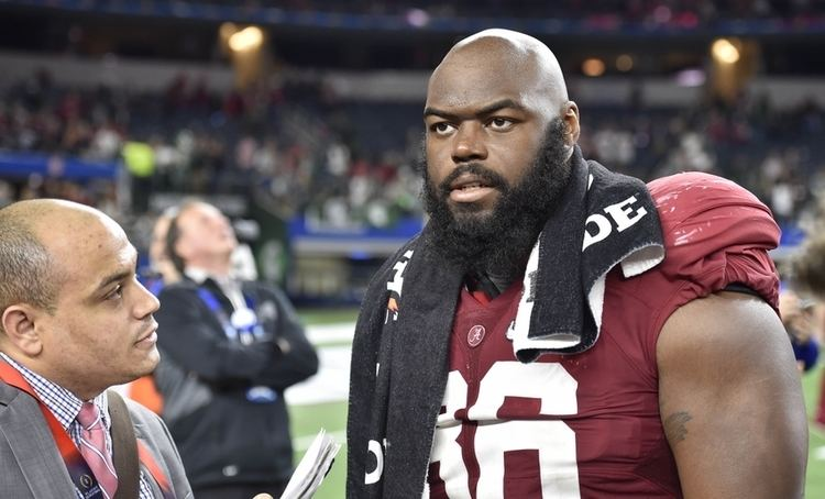 A'Shawn Robinson NFL Draft A39Shawn Robinson Selected 46th Overall by Lions