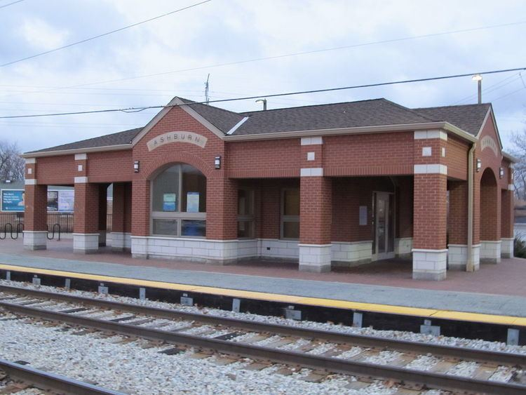 Ashburn station (Illinois)