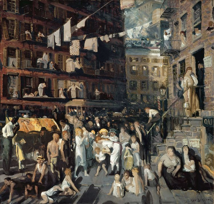 Ashcan School George Bellows Wikipedia