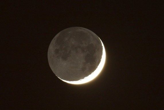 Ashen light Moon in Ashen Light Farnham Astronomical Society