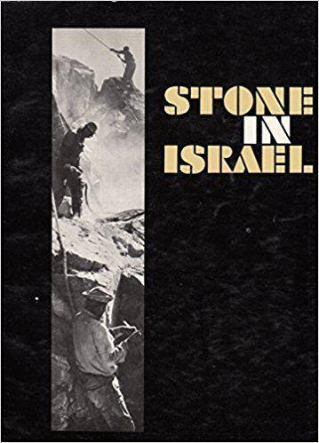 Asher Shadmon Stone in Israel Asher Shadmon Amazoncom Books