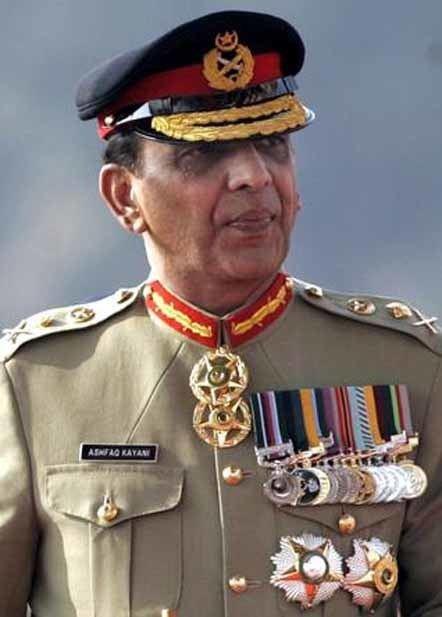 Ashfaq Parvez Kayani Pakistan Army chief says prepared to defeat external