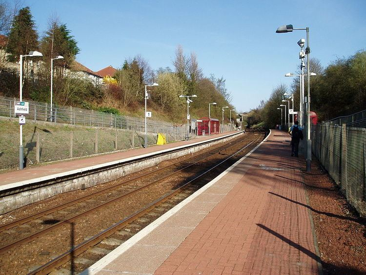 Ashfield railway station, Glasgow