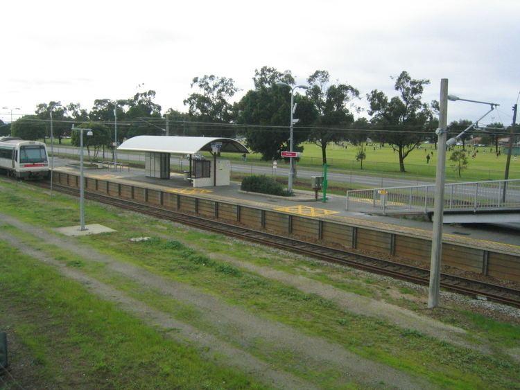 Ashfield railway station, Perth