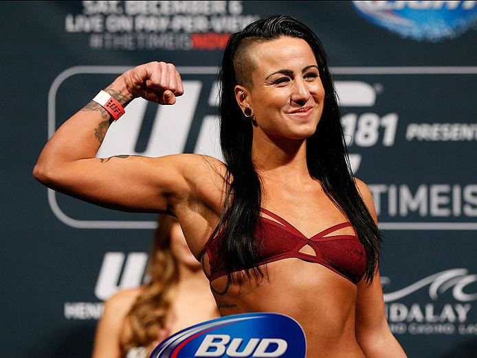 Ashlee Evans-Smith EvansSmith positive outlook could bring Octagon success UFC News