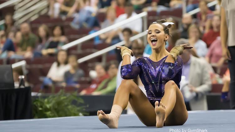 Ashleigh Gnat Senior Spotlight LSUs Ashleigh Gnat FloGymnastics