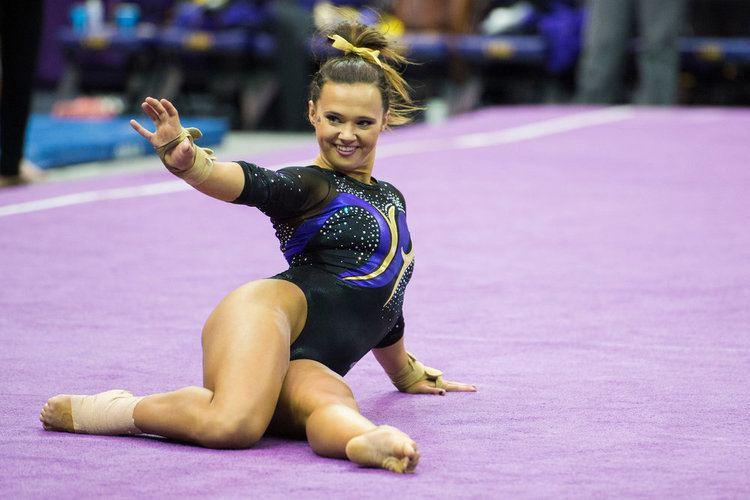 Ashleigh Gnat Ashleigh Gnat LSU Gymnastics