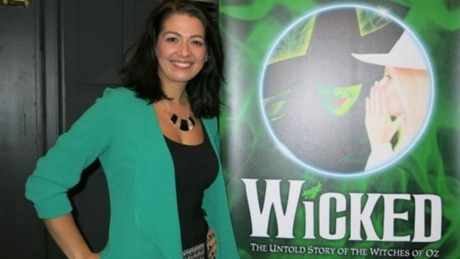 Ashleigh Gray Ashleigh Gray as leading role Elphaba in Wicked at the