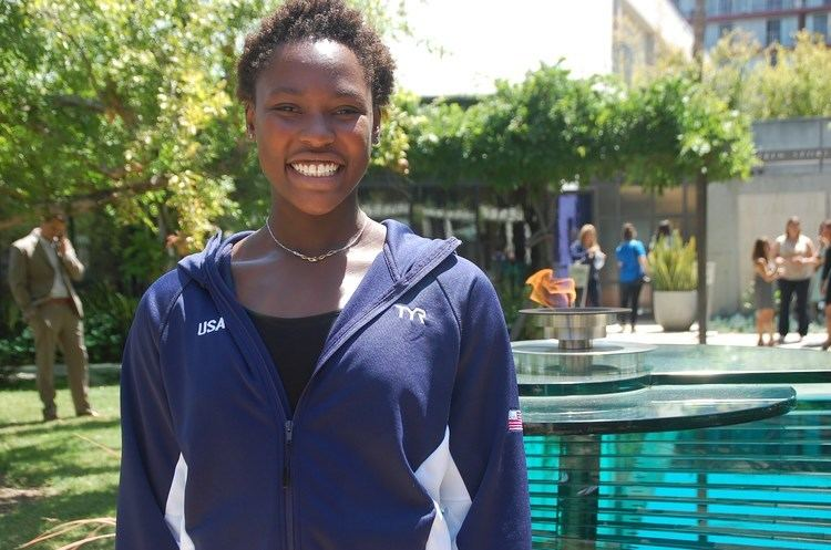 Ashleigh Johnson Interview with 2016 US Olympic Water Polo team goalie Ashleigh