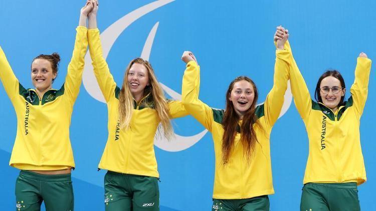 Ashleigh McConnell 2016 Rio Paralymics Gold medal for Sunbury swimmer Ashleigh