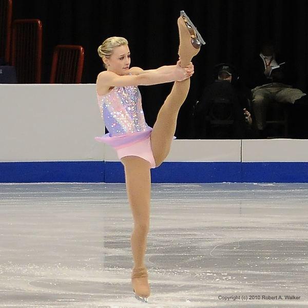 Ashley Cain (figure skater) 2010 ATampT US Figure Skating Championships Spokane WA