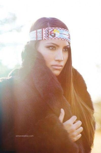 Ashley Callingbull-Burnham Meet Ashley CallingbullBurnham Badass Beauty Queen Flare