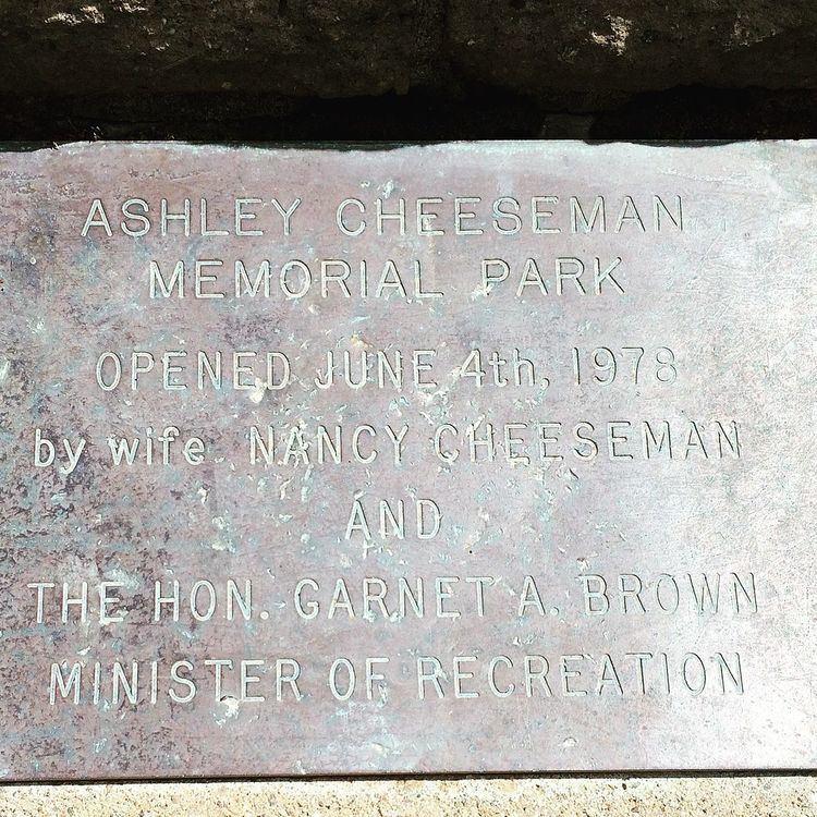 Ashley Cheeseman Memorial Park