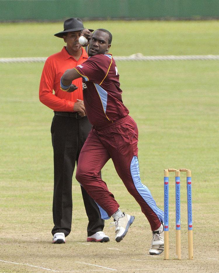 Ashley Nurse Ashley Nurse took three wickets for 15 Photo Sri Lanka ESPN