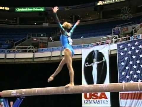 Ashley Postell Ashley Postell Balance Beam 2002 US Gymnastics Championships