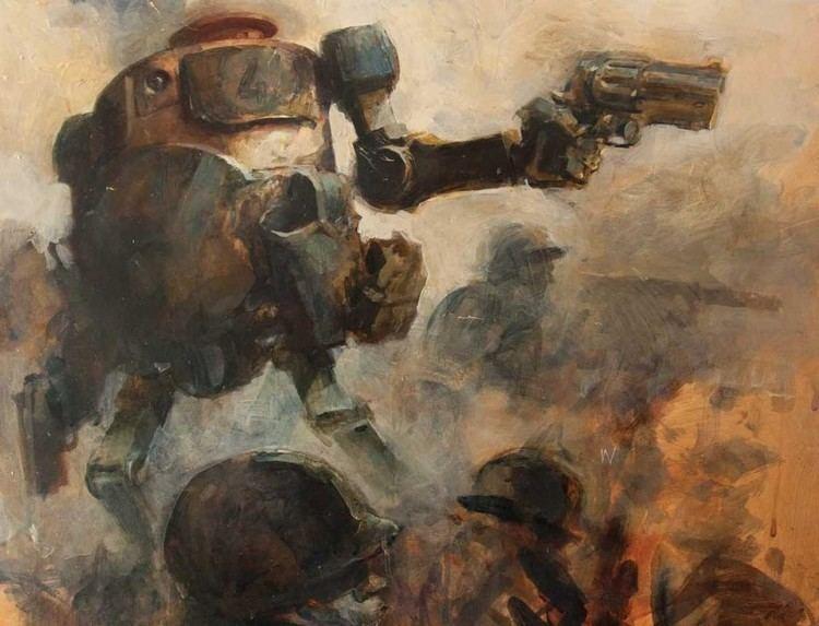 Ashley Wood World War Robot by Ashley Wood RobotSpaceBrain
