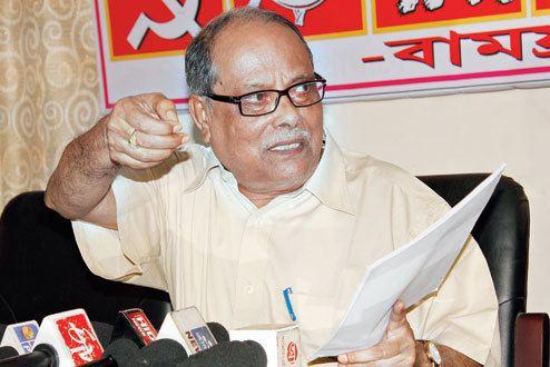 Ashok Bhattacharya is in danger in West Bengal ASHOK BHATTACHARYA