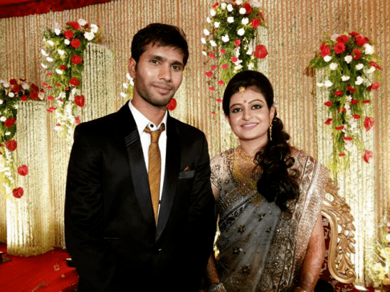 Ashok Dinda (Cricketer) family