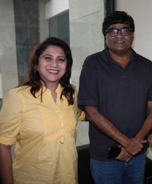 Ashok Saraf Ashok Saraf family photos Celebrity family wiki