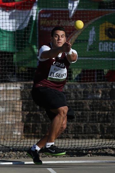 Ashraf Amgad Elseify Report men39s hammer throw IAAF World Junior