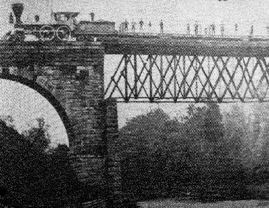 Ashtabula River railroad disaster ASHTABULA BRIDGE DISASTER