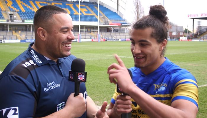 Ashton Golding WATCH Golding looking forward to Wakefield test Rugby AM