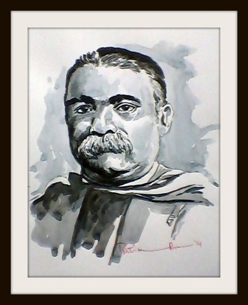 Ashutosh Mukherjee Sir Ashutosh Mukherjee by Pratim Das