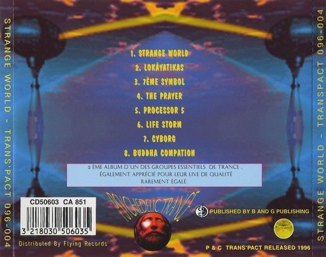 Asia 2001 Asia 2001 Strange World CD 1996 release from Trans39pact Productions