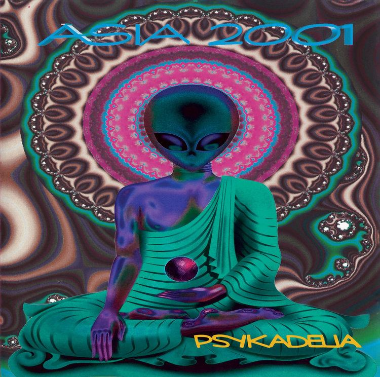 Asia 2001 Asia 2001 Psykadelia Suntrip Records