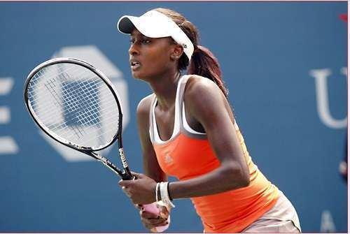 Asia Muhammad Luxury Tennis Rackets Asia Muhammad Plays With Diamonds