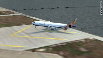 Asiana Airlines Flight 214 What happened with Asiana Flight 214 CNNcom