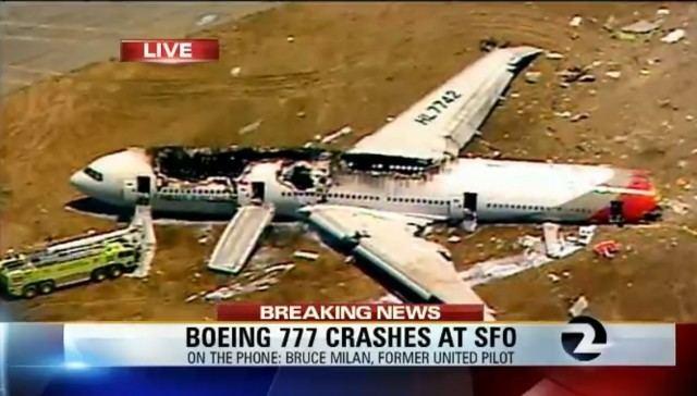 Asiana Airlines Flight 214 UPDATE 10 Photos amp Details on Asiana Airlines Flight 214 Crash in