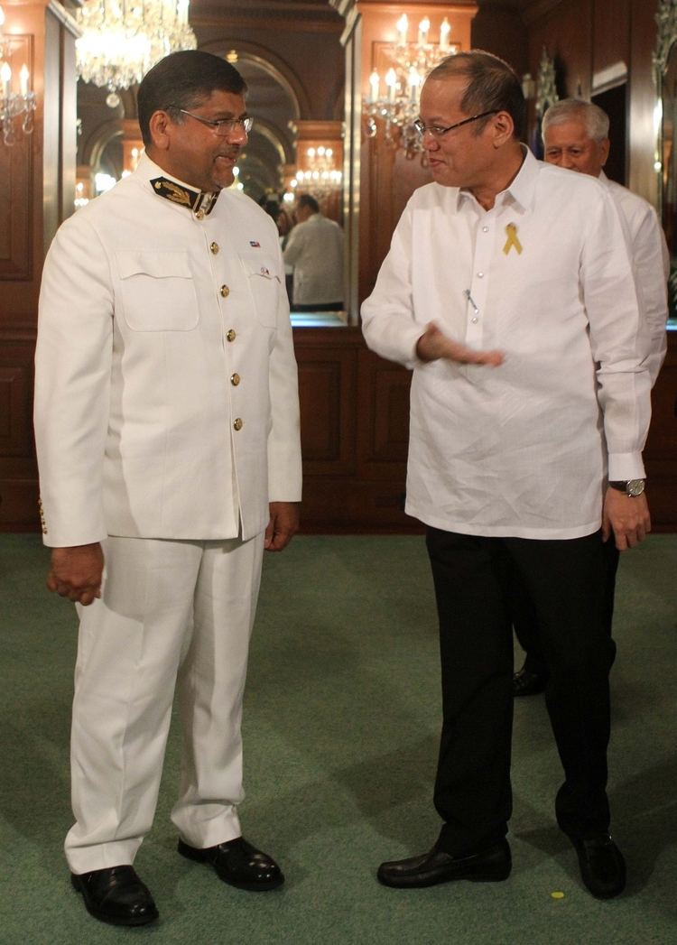Asif Ahmad New UK envoy knows his Filipino Inquirer Global Nation