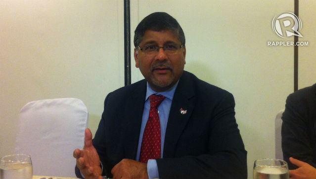 Asif Ahmad UK envoy 39All we need is PH govt39s gosignal39