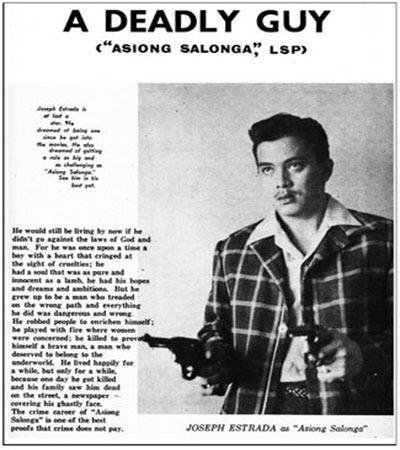 Asiong Salonga Philippine HiStory Today Celebrity Politicians FFE Magazine